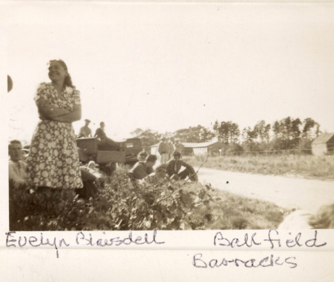 Evelyn Blaisdell Ballfield, Barracks