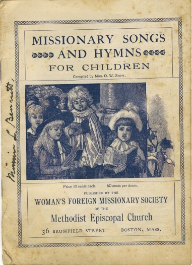 Mission Song Book Cover